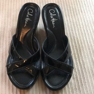 Black Cole Haan Sandals